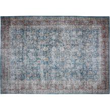 Barbara Becker Teppich Loft Türkis-Beige gemustert 80 x 150 cm