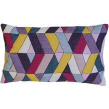 BARBARA Home Collection Kissenhülle Marrakesch bunt 50 x 30 cm