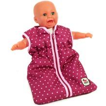 Bayer Chic Puppen-Schlafsack brombeere