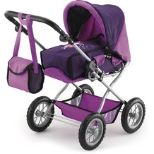 Bayer Design Kombi-Puppenwagen Grande lila