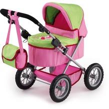Bayer Design Puppenwagen Trendy pink/grün