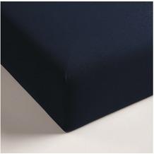Beddinghouse Jersey-Spannbettlaken, dunkelblau 80/90x200/210
