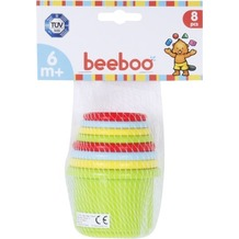 Beeboo Baby Stapelpyramide, 8 teilig