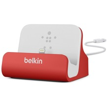 Belkin Lightning Lade/Sync Dock für iPhone/iPod, Rot