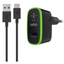 Belkin Netzladegerät 2.1A inkl. USB-C Kabel, schwarz