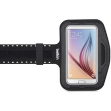 Belkin Slim Fit Sportarmband für Samsung Galaxy S7, schwarz
