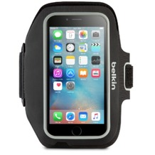 Belkin Sport Fit Plus Sportarmband für iPhone 7 Plus, Schwarz