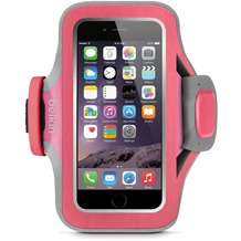Belkin Sportsarmband Slim-Fit Plus für Apple iPhone 6, pink