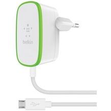 Belkin Wandladegerät Micro USB, 1,8m 2,4A, Weiß