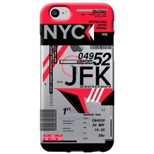 Benjamins AirPort New York (John F. Kennedy) - Silikon Cover - Apple iPhone 7