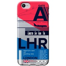 Benjamins AirPort London Heathrow - Silikon Cover - Apple iPhone 7