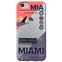 Benjamins AirPort Miami - Silikon Cover - Apple iPhone 7