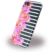 Benjamins Silikon Cover - Apple iPhone 7 - Flower