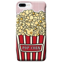 Benjamins Silikon Cover - Apple iPhone 7 Plus / iPhone 8 Plus - Pop Corn