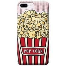 Benjamins Silikon Cover - Apple iPhone 7 Plus / iPhone 8 Plus - Pop Corn