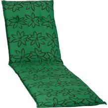 BEO Bodrum 193 x 60 x 6 cm kräftiges Grün mit Blumenzeichnung M906