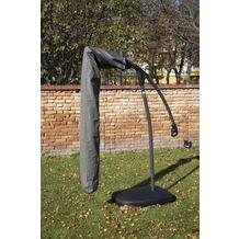 BEO Luxushülle Ampelschirm mit Stick bis 3x3 m grau