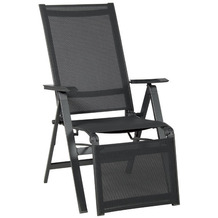 acamp Relaxsessel Urban anthrazit/carbon