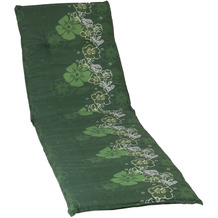 BEO Saumauflage Rolliege grüner Hintergr. M. Blumenranke M309