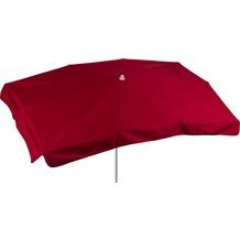 sonnenschirm rechteckig rot