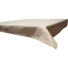 BEO Tischdecke 130x180 wasserabweisend mit Windport beige PY302