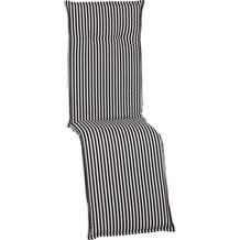 BEO Tupelo BE807 Streifen schwarz/weiss groß, große Sitzfläche