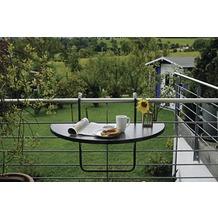 Best Balkonhängetisch Butler 100x50cm anthrazit Gartentisch
