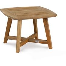 Best Beistell-Tisch Lounge Paterna 50x50cm Teakholz Gartentisch