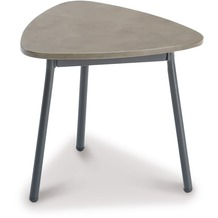 Best Beistelltisch Andros 40x38cm anthrazit/betongrau Gartentisch