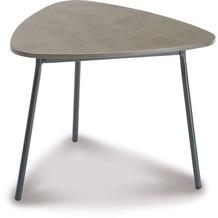 Best Beistelltisch Andros 60x57cm anthrazit/betongrau Gartentisch