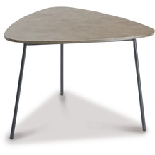 Best Beistelltisch Andros 80x77cm anthrazit/betongrau Gartentisch