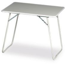 Best Camping-Tisch 60x80cm weiss Gartentisch