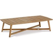 Best Couch Tisch Paterna 140x70cm Teakholz Gartentisch