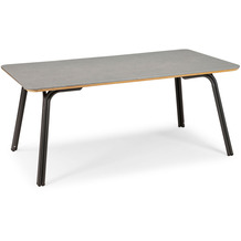 Best Dining Tisch Symi 180x100cm anthrazit/betongrau