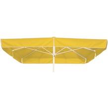 Best Großschirm Mallorca 300x300cm/8-tlg. weiß Sonnenschirm