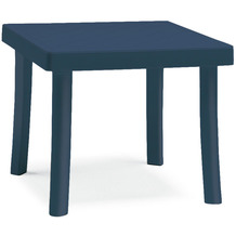 Best Hocker Florida 46x46x40cm blau