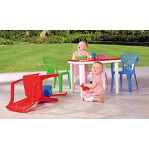 Best Kindertisch Aladino 60x45cm weiss/rot