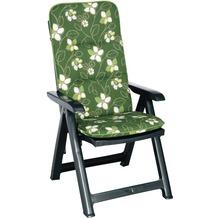 Best Klappsessel Santiago grün+PL D.1262 Gartenstuhl