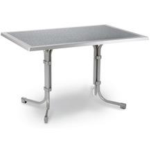 Best Tisch Boulevard eckig 120x80cm silber Gartentisch