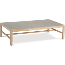 Best Lounge Tisch Madagaskar 140x80cm Grandis/betongrau Gartentisch