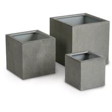 Best Pflanzbehälter Rockall 45x45x45cm Beton/Glasfaser Blumenkübel