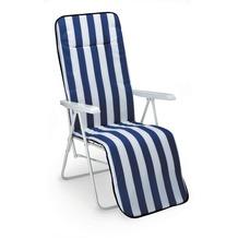 Best Relaxliege Chiemsee weiss/D.0268 Gartenliege Sonnenliege