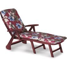 Best Rolliege Charleston bord+PL D.1263 Gartenliege Sonnenliege