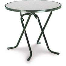 Best Scherenklapptisch rund 80cm grün Gartentisch
