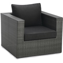 Best Sessel Lounge Aruba anthrazit/anthrazit Gartensessel