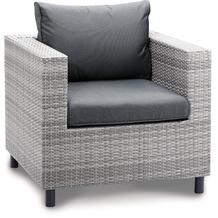 Best Sessel Lounge Bonaire warm-grey Gartensessel