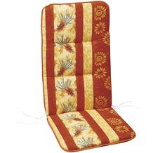 Best Sesselauflage nieder 100x50x6cm D.0666