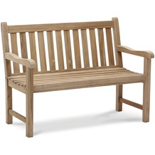 Best Teak-Bank Moretti 120cm grey-wash Gartenbank