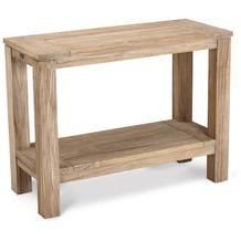 Best Teak-Sideboard Moretti 100x42cm grey-wash Gartenregal