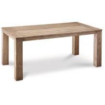 Best Teak-Tisch Moretti 160x90cm grey-wash Gartentisch